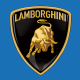 stickers plaque LAMBORGHINI