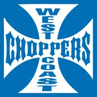 stickers WEST COAST CHOPP