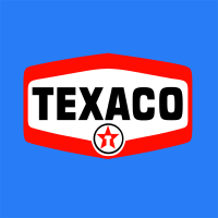 stickers TEXACO