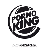 sticker Porno King